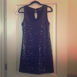 NEW White House Black Market Sequined Dress Size S